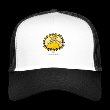 Cuddle up in Arena's Cave- The Keeper of Orbis - Trucker Cap