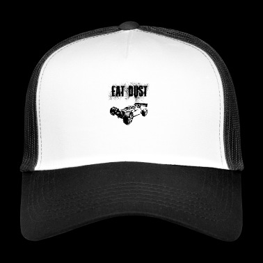 RC Car Racing On Off-Roader EAT DUST BLACK - Trucker Cap