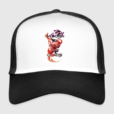 Born to rule the chaos - Trucker Cap