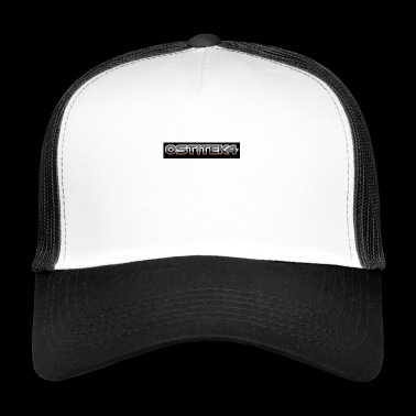 awesome font - Trucker Cap