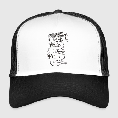Dragon - bezbarwne - Trucker Cap