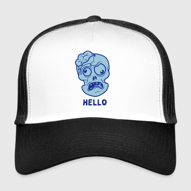 Hello Dead Head - Trucker Cap