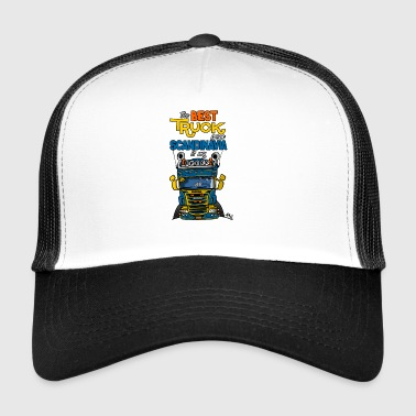 323 truck from Sweden - Trucker Cap