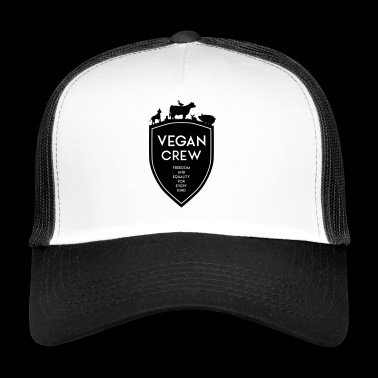 VEGAN CREW SHIELD - Trucker Cap