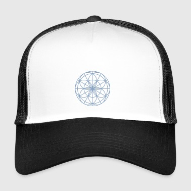 Mandala Spirit light blue - Trucker Cap