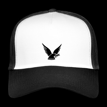 dove of peace - Trucker Cap