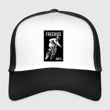 Freeride 100 procent - Trucker Cap