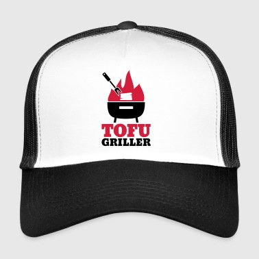 Tofu Griller - gift for vegans and vegetarians - Trucker Cap