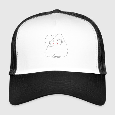 Couple d'amour - Trucker Cap