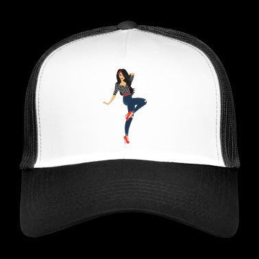 Pinup girl - Trucker Cap