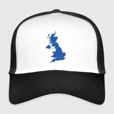 UK MAP - Trucker Cap