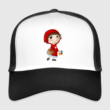 Little Red Riding Hood cartoon - Trucker Cap