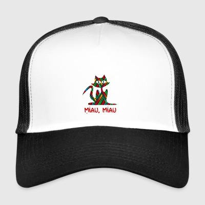 eyed cat - Trucker Cap