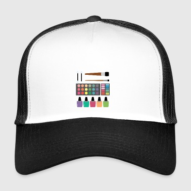 Make-Up Set - Trucker Cap