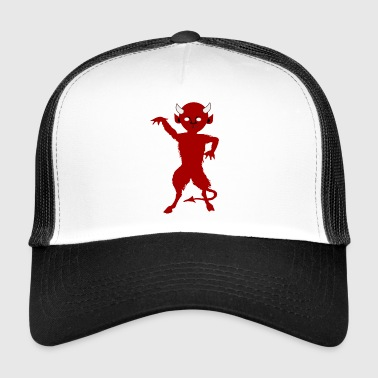 satan devil devil evil bright hell lucifer - Trucker Cap