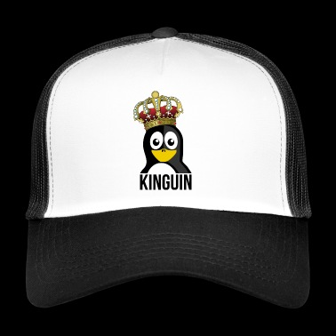 Kinguin Penguin Royal Crown Slotts - Trucker Cap