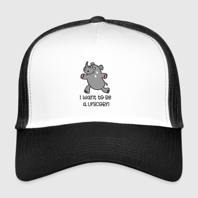 to run - Trucker Cap
