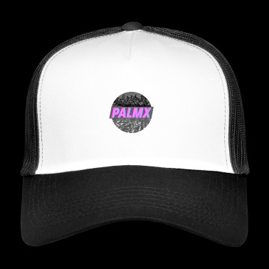 Palm X Trippy Różowy Twitch - Trucker Cap