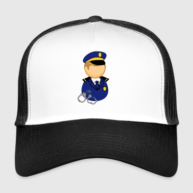officier de police - Trucker Cap