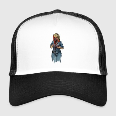 Zombie Woman - Trucker Cap