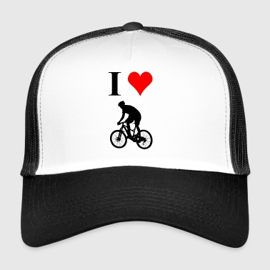 I love riding bicycles - Trucker Cap