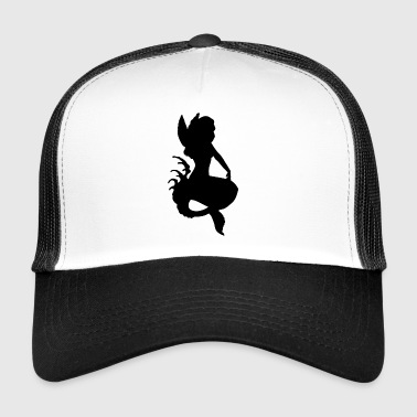 elf elf fairy fairy unicorn - Trucker Cap
