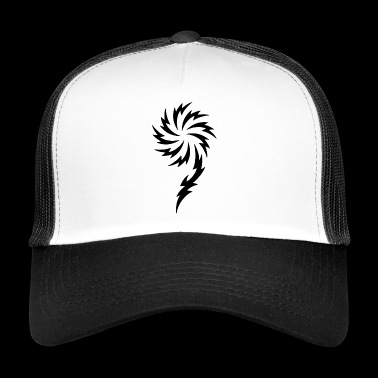 Tribal Flower - Trucker Cap