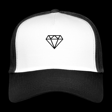 diamant transparent - Trucker Cap