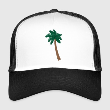 Palme Illustration - Trucker Cap