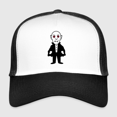 Vampire Dracula Blood Coffin Halloween Pumpkin Night - Trucker Cap