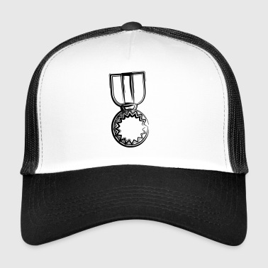 A medal for all winners as a gift idea - Trucker Cap