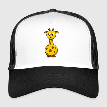 Giraffe Cartoon - Trucker Cap