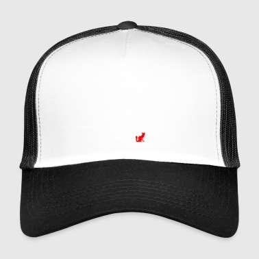 LONG HAIR CAT - Trucker Cap