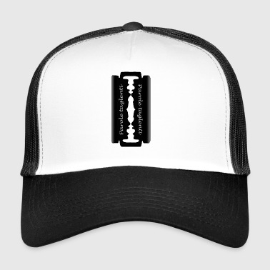 sharp words - Trucker Cap