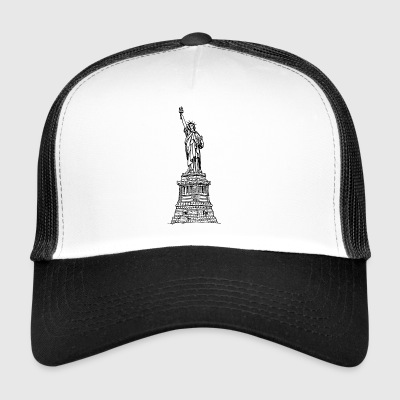 statue of Liberty - Trucker Cap