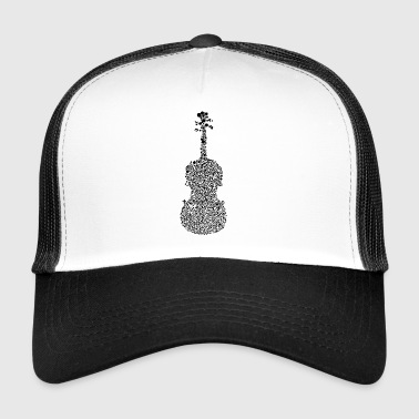 Fiddle violin band bands - Trucker Cap