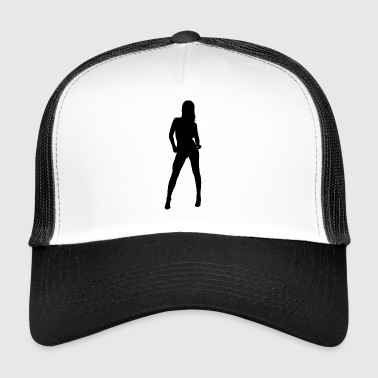 Sexy woman - Trucker Cap
