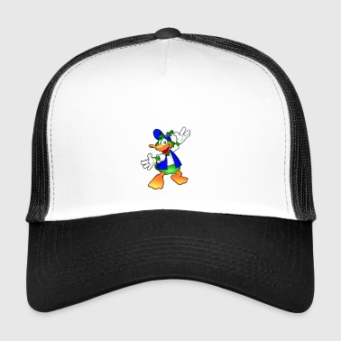 Duck comic - Trucker Cap