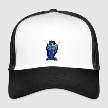 Tänzerin Illustration - Trucker Cap