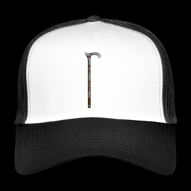 walking stick - Trucker Cap