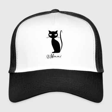 Chic cat Mimmi glamorous for every occasion - Trucker Cap
