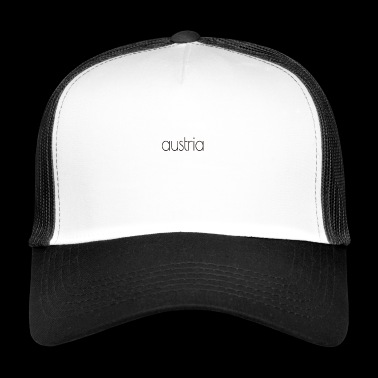Austria text - Trucker Cap