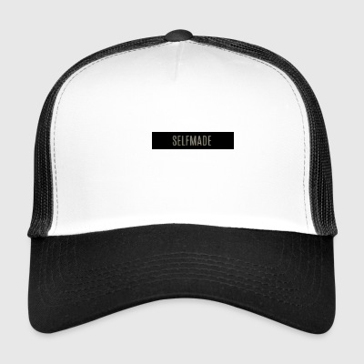 Self Made Logo Negro - Gorra de camionero