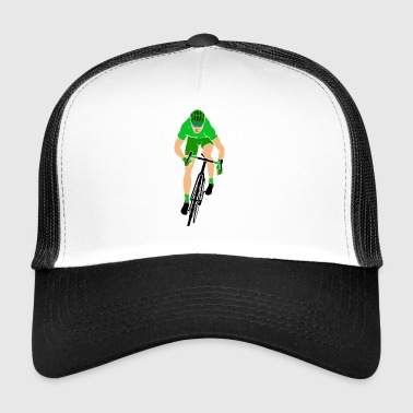 Sprinter on the road bike - Trucker Cap