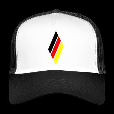 Germany rhombus - Trucker Cap