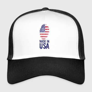 Made in USA / Made in USA Ameryki - Trucker Cap
