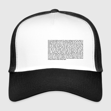 De ultieme motivatie en inspiratie Shirt - Trucker Cap