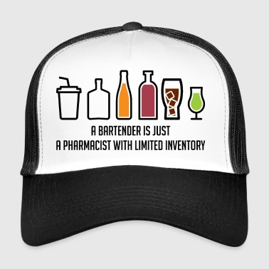 Pharmacy / Pharmacist: A Bartender Is Just A - Trucker Cap