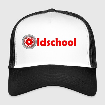 oldschool_wheel - Trucker Cap