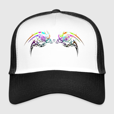 Neon tribal design - Trucker Cap